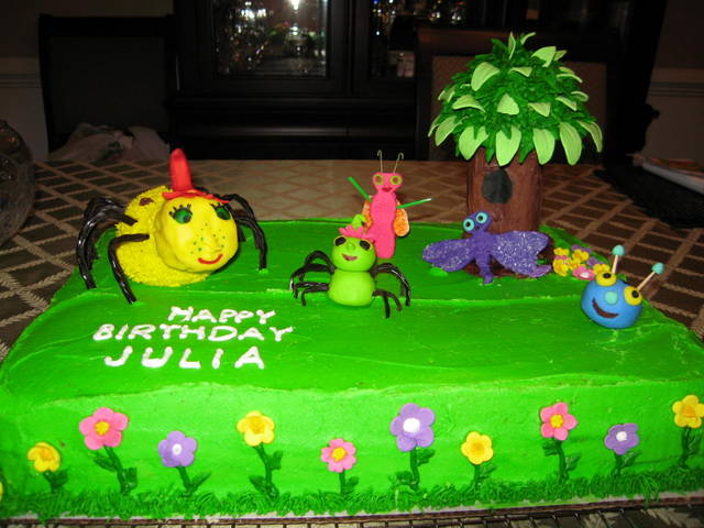 Miss Spider's Sunnypatch cake