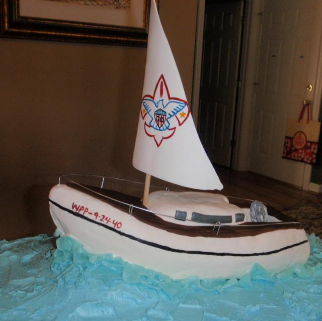 SailboatCake