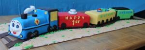 Thomas the Tank Engine Kid's Birthday Cake